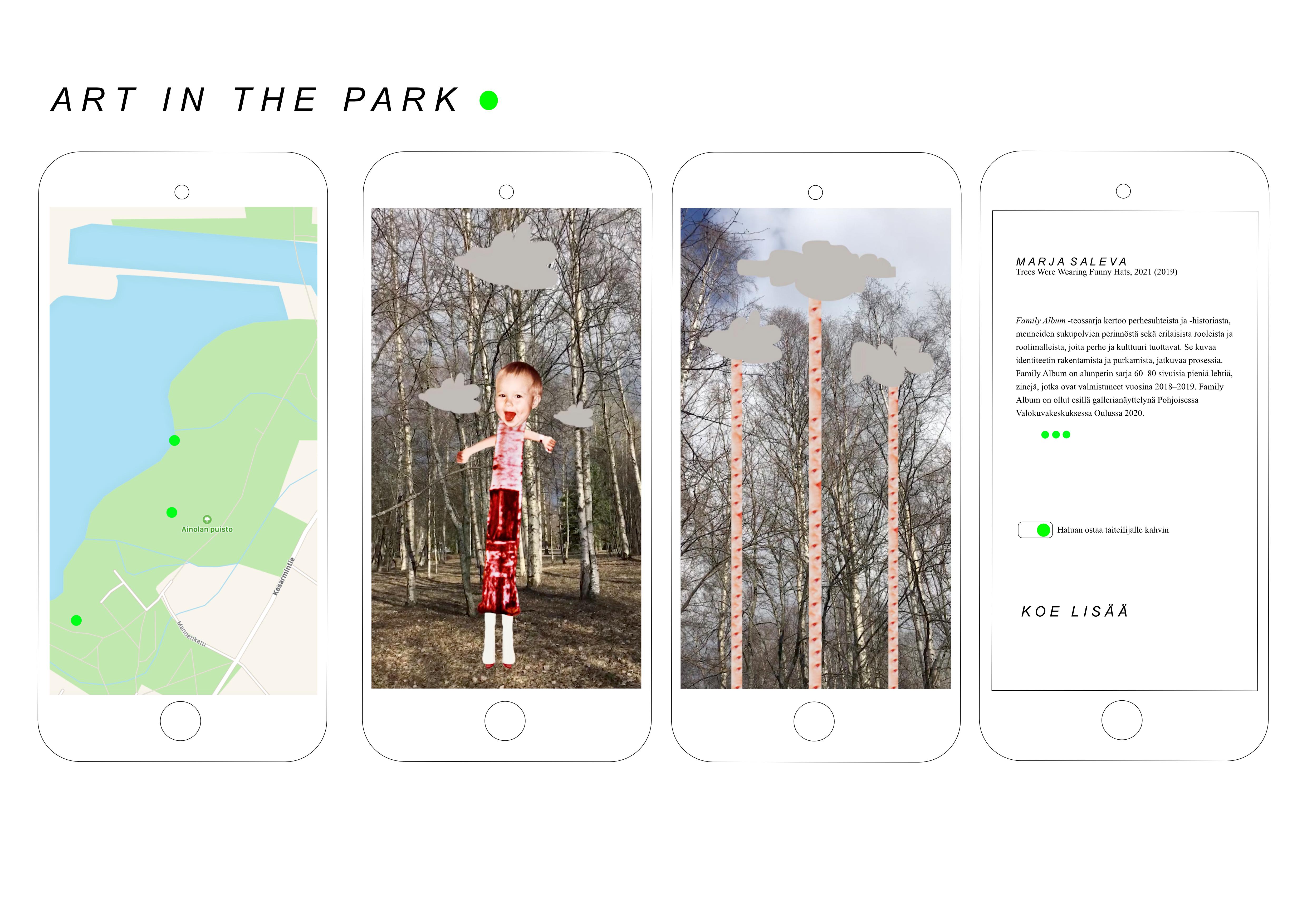 Art in the Park - Koe taidetta lisätyn todellisuuden avulla